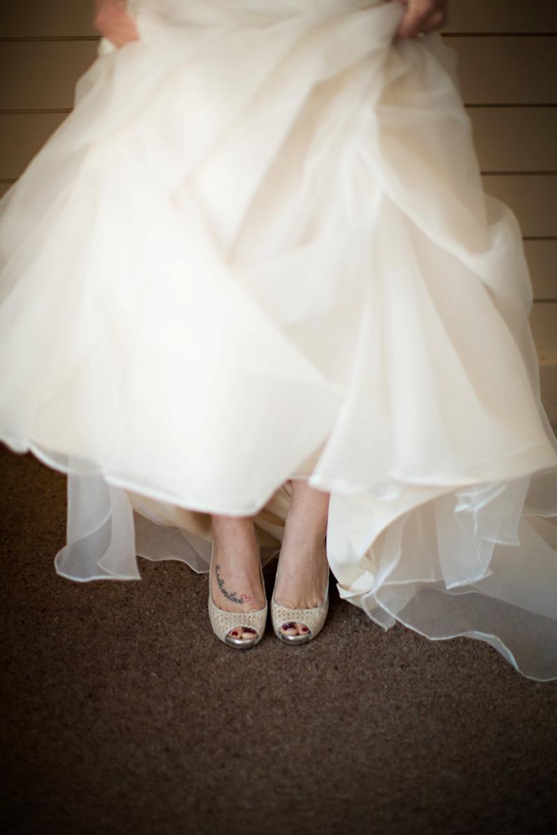 Breanna Jake Snowy Wedding At The Enchanted Barn