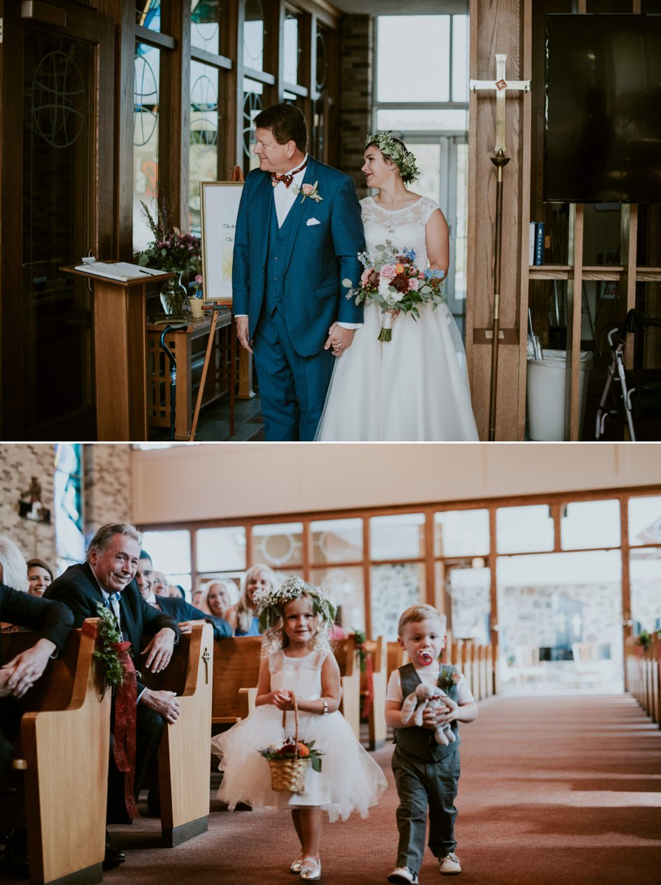 Emily + Tim: Rose Hued Wedding at Lake Geneva