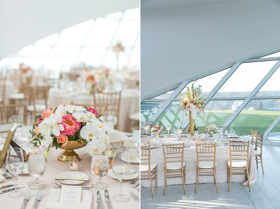Blush and Gold Wedding at the Milwaukee Art Museum | Wisconsin Bride