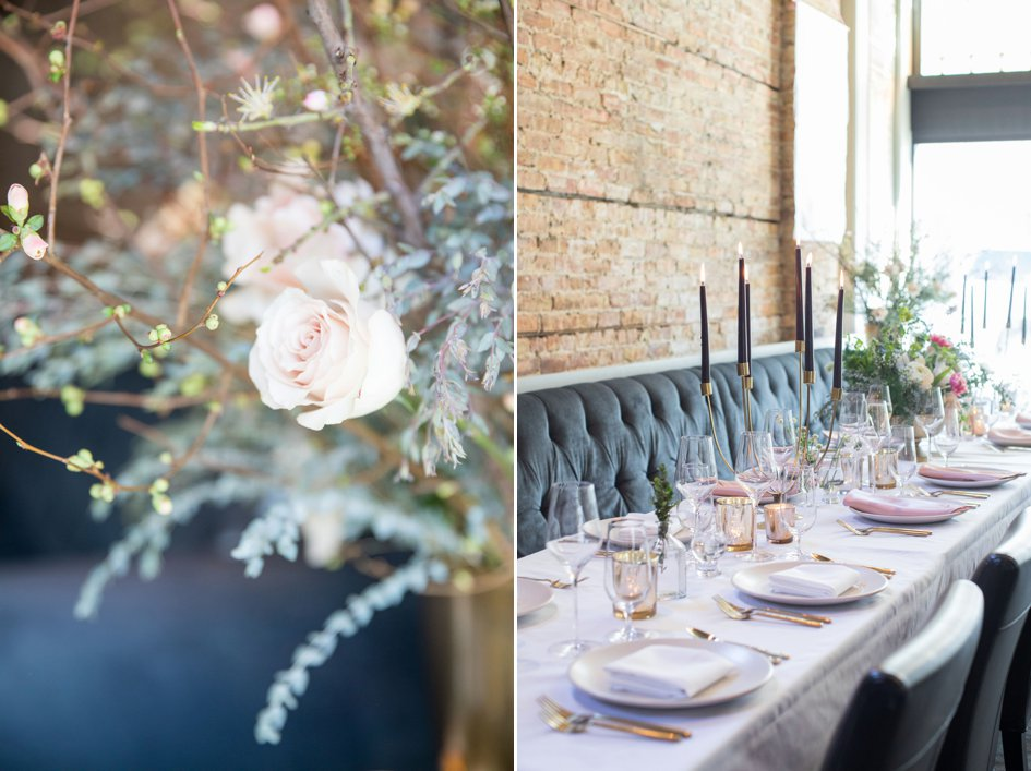 Fresh Spring Styled Shoot at Cento | Wisconsin Bride