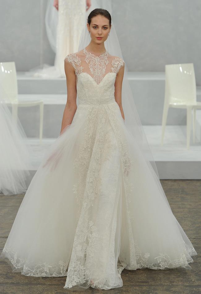 72a612913ed2 My Eternal Daydream  Monique Lhuillier s Spring 2015 Wedding Gown ...
