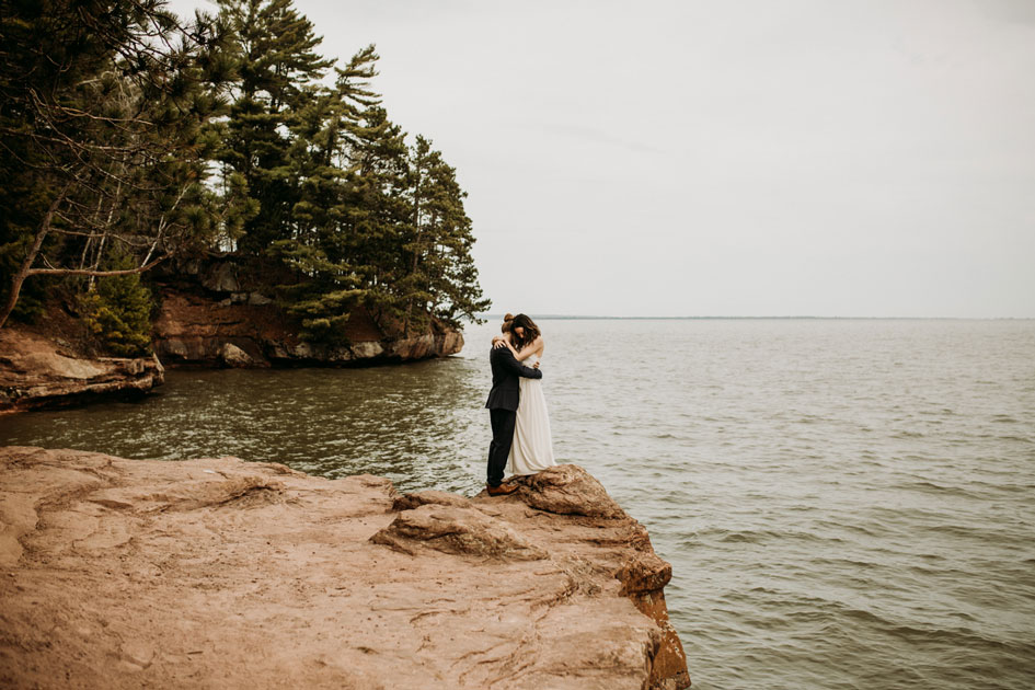 A couple forgoes a traditional wedding in favor of a romp through the woods, leading to some stunning shots
