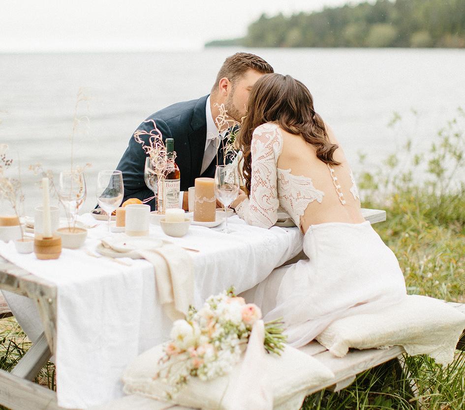 beachside wedding decor