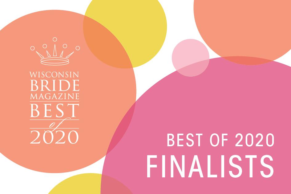 Wisconsin Bride Best of 2020 finalists