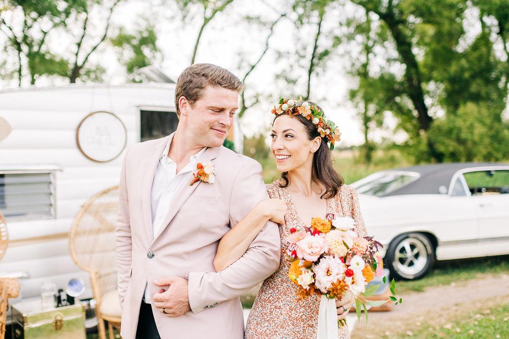 Carnival Inspired Wedding