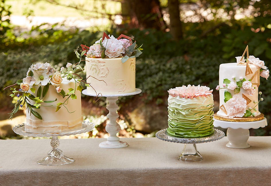 Wedding Cake Mini Masterpieces   Wisconsin Bride