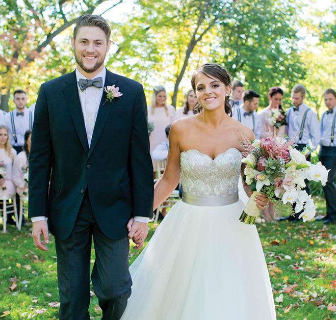 Outdoor Wedding Wisconsin: Sloan & Corey: Earthy, Natural Outdoor Wedding At The