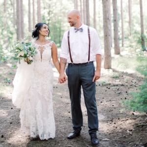 CeCe and Bob wed at Burlap and Bells