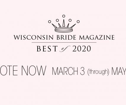 Wisconsin Bride Magazine Best of 2020