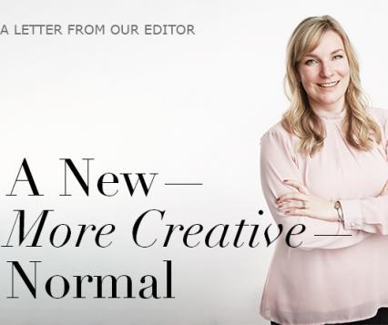 A note from the editor, Megan White