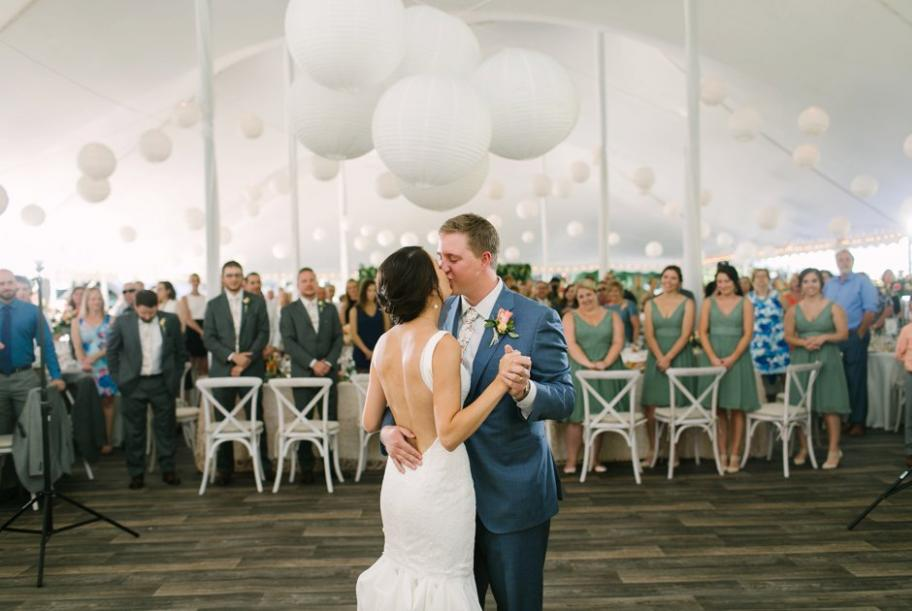 Magical Summer Wedding at Mt. La Crosse | Wisconsin Bride