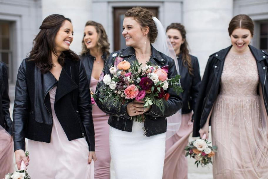 Delicate Wedding with an Edgy Twist at The Edgewater