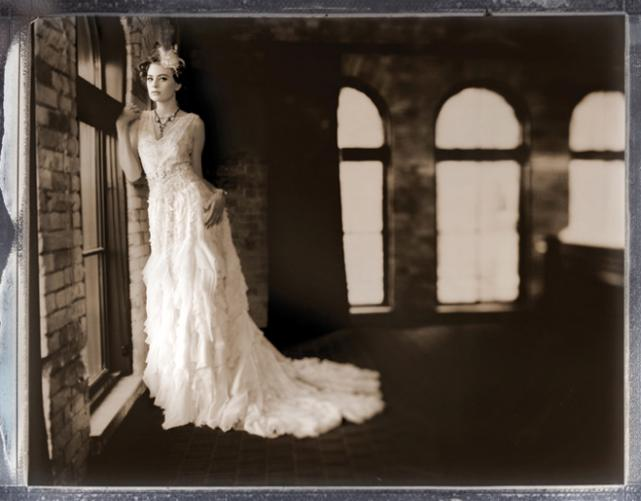 Portrait Of A Lady: Vintage-Inspired Wedding Gowns And