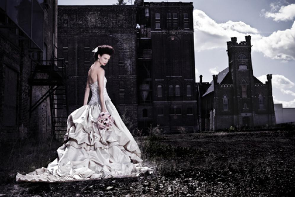 Wedding Gown Fashion: Head In The Clouds