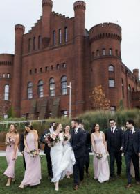 Delicate Wedding with an Edgy Twist at The Edgewater | Wisconsin Bride