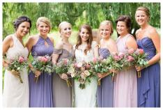 Pretty Pastel Bridesmaid Dresses for Spring | Wisconsin Bride