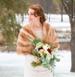 Six Perfect Wedding Dresses for Winter