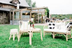 Organic Wedding at The Enchanted Barn | Wisconsin Bride