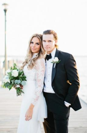 Highschool Sweethearts Wed at The Riviera | Wisconsin Bride