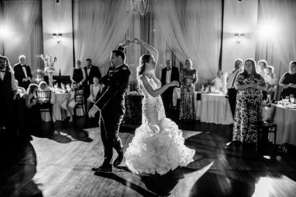 Travel Themed Wedding at The Court Above Main | Wisconsin Bride