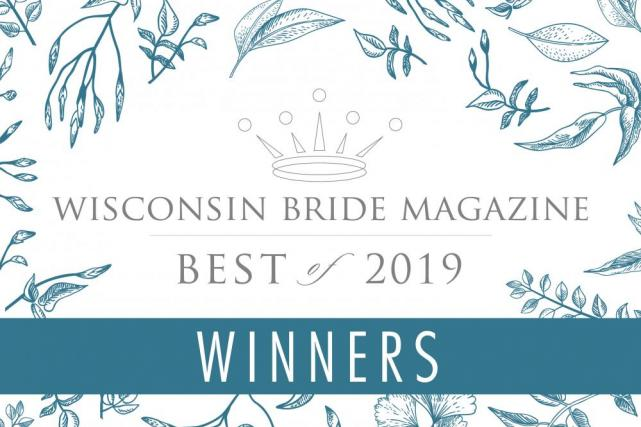 Wisconsin Bride Best Of Winners!
